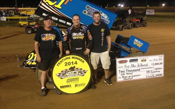 Gulf South Glory Goes to Kulhanek at Leesville 171 Speedway
