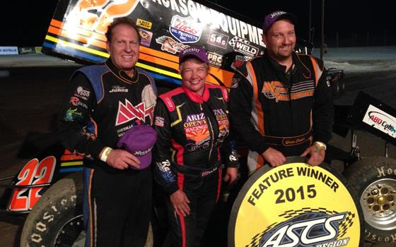 Jesse Baker Tops ASCS Southwest in Las Cruces