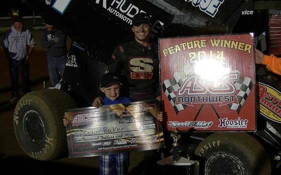 Colin Baker Gets Big Win At Coos Bay Speedway For Round Three Of Speedweek Northwest