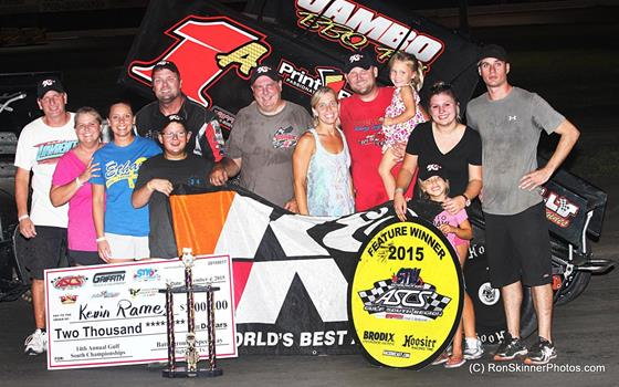 Kevin Ramey Back On Top Following ASCS Gulf South Win at Battleground Speedway
