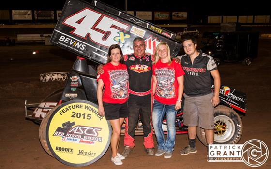 Johnny Herrera Dominates ASCS Red River at Wichita Falls!