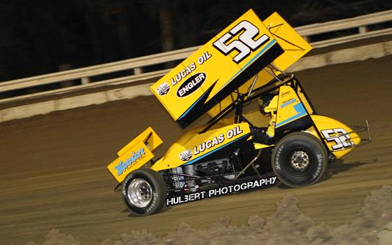 Blake Hahn Posts Top 15 Finish at Bubba Raceway Park with Lucas Oil ASCS