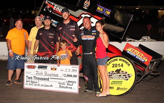 Baughman Tames the Devil's Bowl in ASCS Regional Showdown