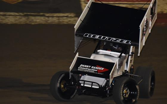 It's all Reutzel at Bubba Raceway Park with Lucas Oil ASCS