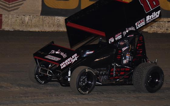 Bruce Jr. Rallies from High Pill Draw During ASCS National Tour Debut at Bubba Raceway Park