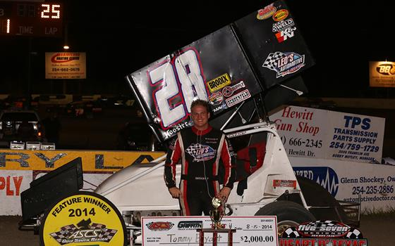Tommy Bryant Unstoppable at Heart O' Texas Speedway