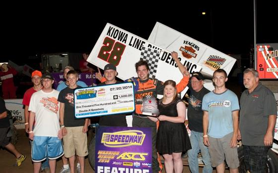 Jonathan Cornell Tops Clyde Wood Memorial at Double X Speedway