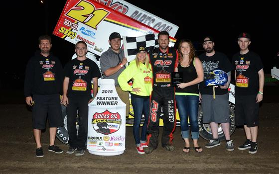 Brian Brown – Back on Track with Belleville Win!