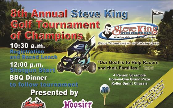 Coming Up: 8th Annual Steve King Golf Tournament of Champions