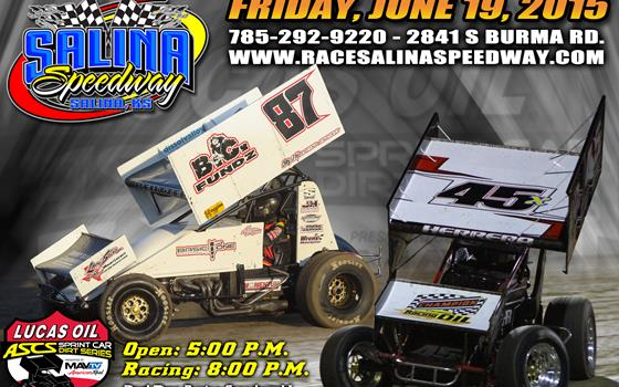 SCHEDULE UPDATE: Salina Speedway Postponed to June 19, 2015; Eagle and Belleville Still Racing.