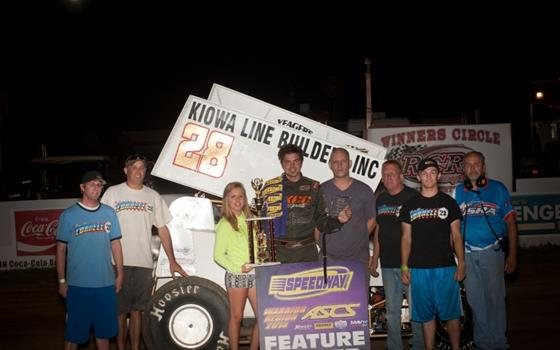 Cornell Dominates ASCS Warriors at Randolph County Raceway