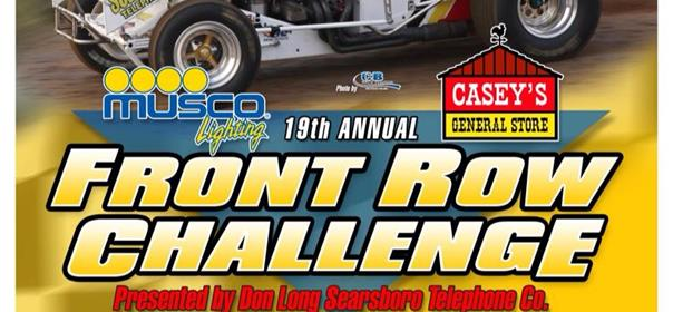 Sprint Car World Gearing Up for Front Row Challenge!