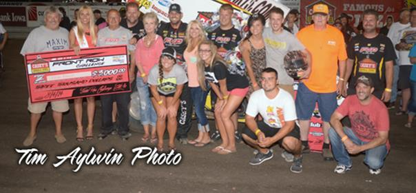Brian Brown Repeats as Front Row Challenge Champion!