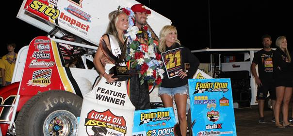 Brian Brown Wins Wild Front Row Challenge