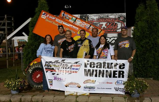 NEITZEL SURVIVES MULTIPLE LATE RACE RESTARTS TO END VICTORY DROUGHT WITH ANGELL PARK SPEEDWAY WIN!