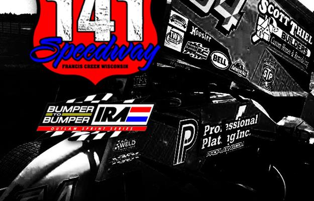 IRA can be seen on SpeedshiftTV at 141 Speedway Sunday