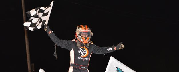 Hagar Powers to 13th Victory of the Season With USCS at Dixie Speedway