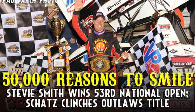 Stevie Smith Scores First National Open Win in 24 Years
