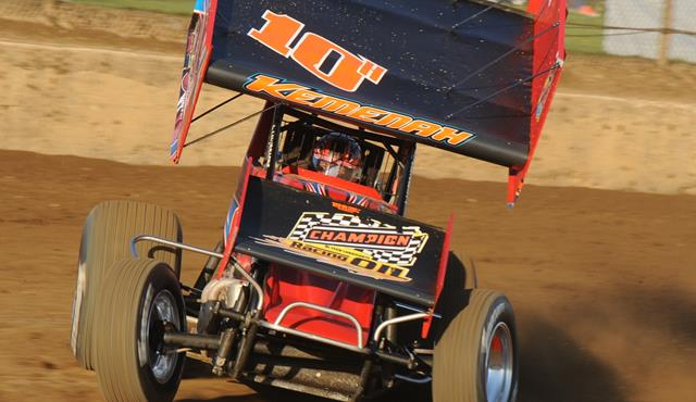 Chad Kemenah Rolls to Win at Mercer Raceway Park