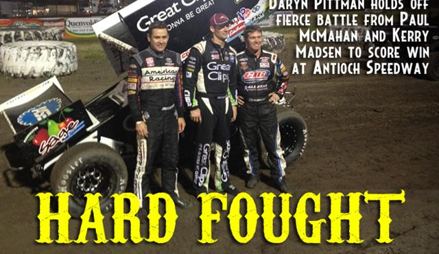 Daryn Pittman Holds off Paul McMahan to Score Victory at Antioch