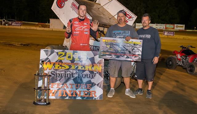 Colby Copeland Wins Round #3 Of Speedweek Northwest To Make It Three In A Row