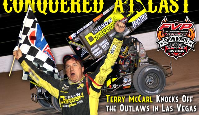 Terry McCarl Makes It Five Winners in Five Races with FVP Outlaw Showdown Win