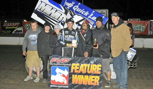 Bryan Clauson Breaks Through for First NSL Win at I-80 Speedway!