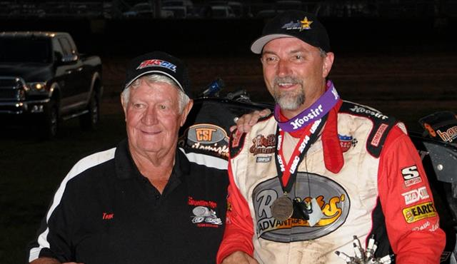 DARLAND'S #53 BREAKS ONE OF USAC's CHERISHED ALL-TIME MARKS