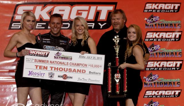 Bergman Wins 2015 Bob's Burgers & Brew Summer Nationals