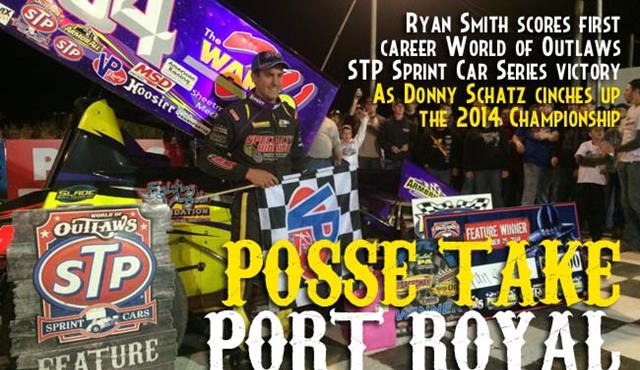 Ryan Smith Scores a Port Royal Win for the Posse