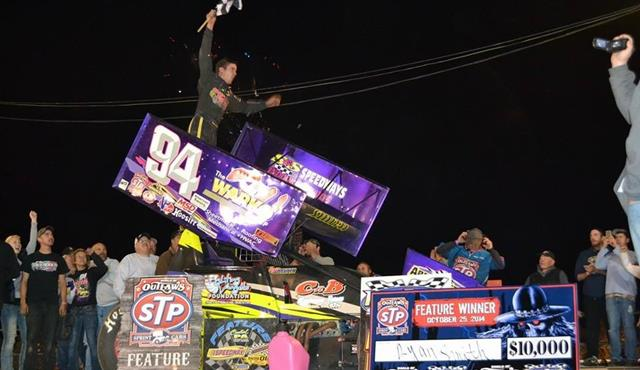 Smith shines with Posse Pride at Port Royal Speedway against the World of Outlaws!