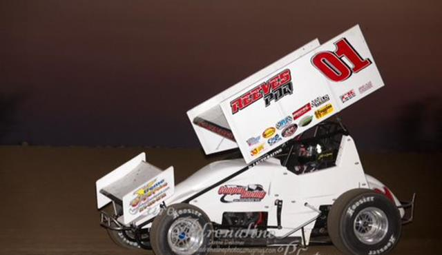 Swindell Sets New Track Record, Earns Podium in Return to Sprint Car