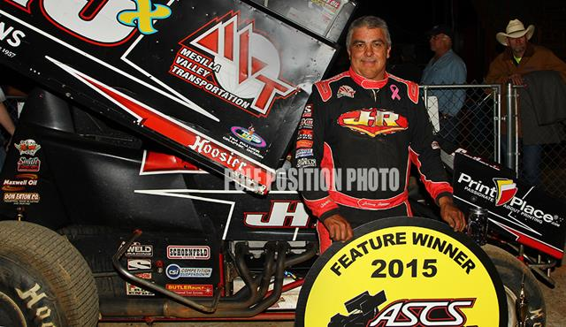 Johnny Herrera Tops ASCS Red River at Timberline