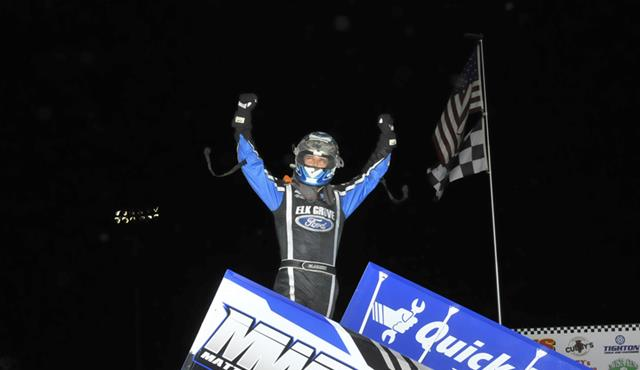 MWR/Bryan Clauson – First NSL Win Comes in the Knick of Time!