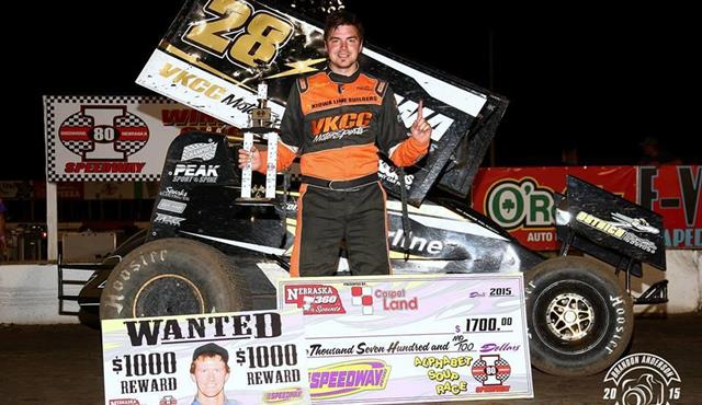 Cornell Takes Bounty on Dover, Wins at I-80