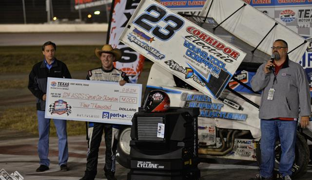 Seth Bergman Earns the Texas Motor Speedway Port-a-Cool U.S. Dirt Track National Championship!