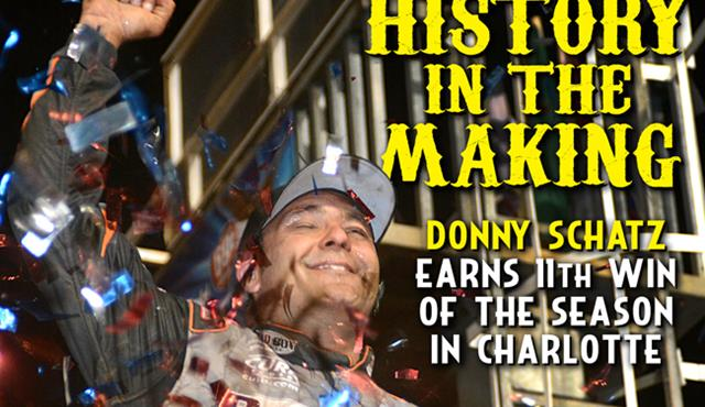 Make It 11: Donny Schatz Wins at The Dirt Track at Charlotte