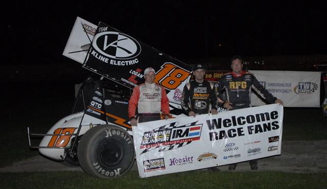 THRILLING END TO BUMPER TO BUMPER IRA SPRINT SEASON AS MADSEN EDGES REINKE IN DODGE COUNTY DUEL!