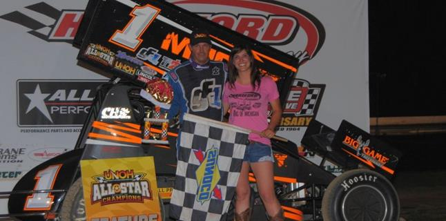 "Dale Blaney Crowned ""King of Michigan"" at Hartford Speedway"