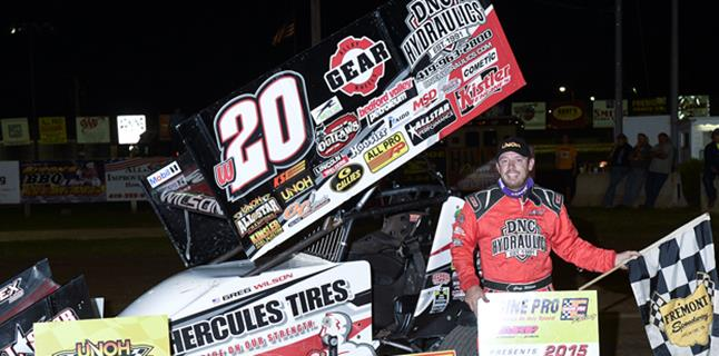 Greg Wilson Earns Second Speedweek Victory of 2015 at Fremont Speedway