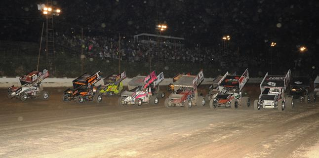 "Dale Blaney Claims 2nd Annual ""Sprint Monster"" at Pittsburgh's Pennsylvania Motor Speedway"