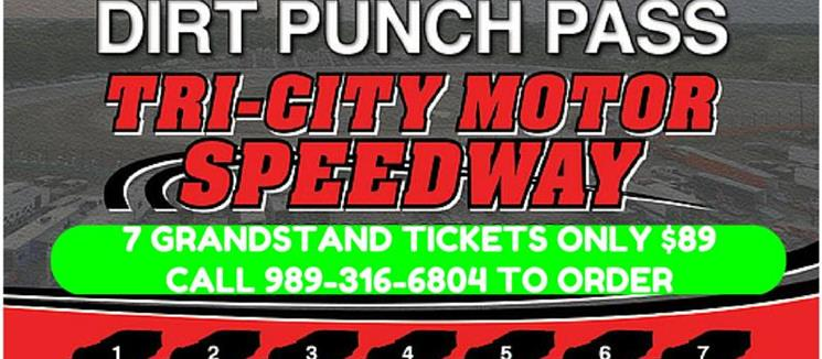 NEW for 2015! Dirt Punch Pass.