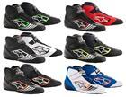 Alpinestars 2713018-1114-7.5 Tech 1-KZ Shoes Size 7.5 Black//Silver//Orange Fluorescent