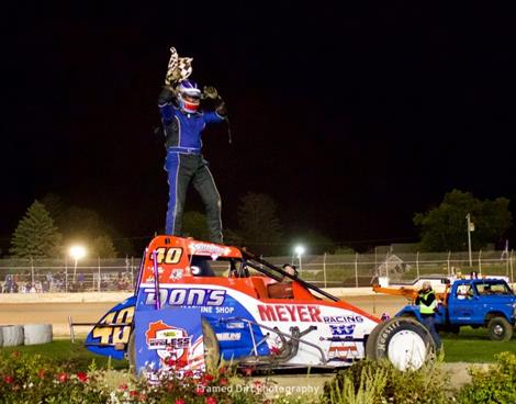 Tim Cox Wins at Plymouth Sprintacular