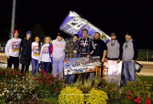 Gass Victorious at Plymouth Dirt Track Again