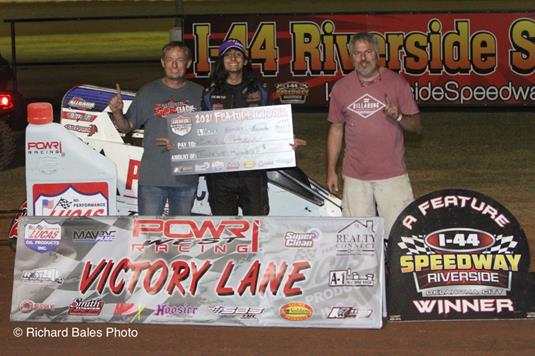 Hoover Goes Wire to Wire to Earn First Career Win