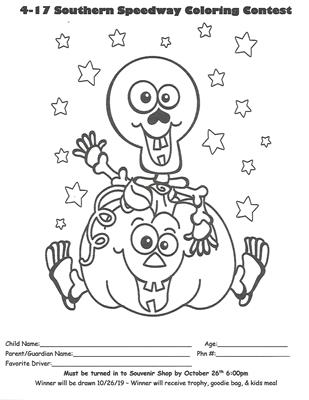 Kids Halloween Coloring Contest Underway - The Official ...