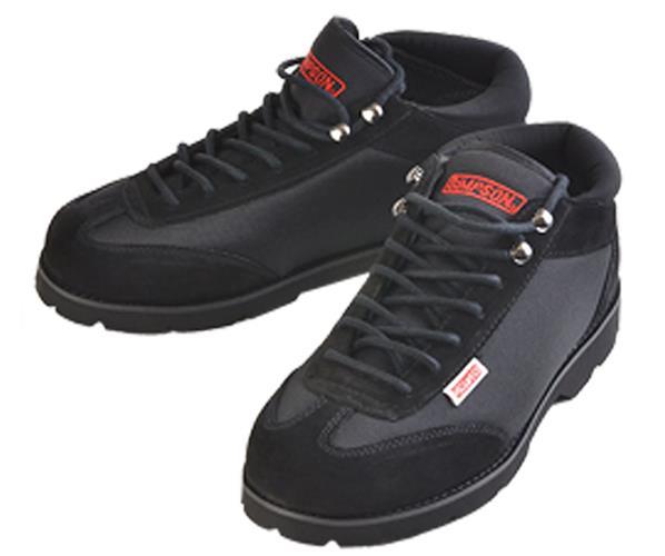 SIMPSON 57550BK Garage Shoe Size 5.5 Black