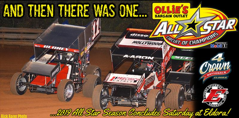 All Star Sprints >> 2019 All Star Circuit Of Champions Season Concludes Saturday