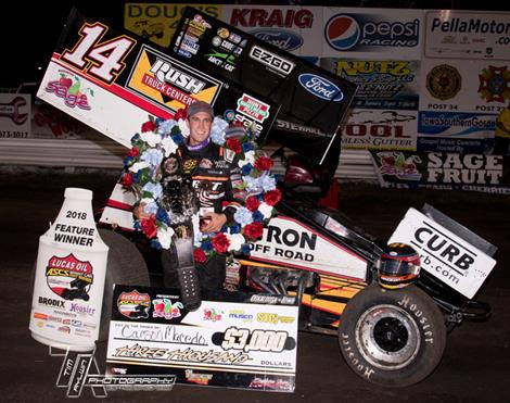 Carson Macedo Sails To Sage Fruit Ultimate Challenge Victory With Lucas Oil American Sprint Car Series